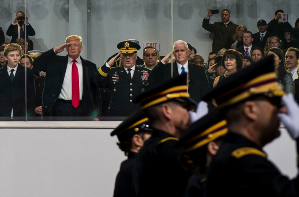Trump's Military 'Parade' to Cost Almost $100 Million: US Department of Defense