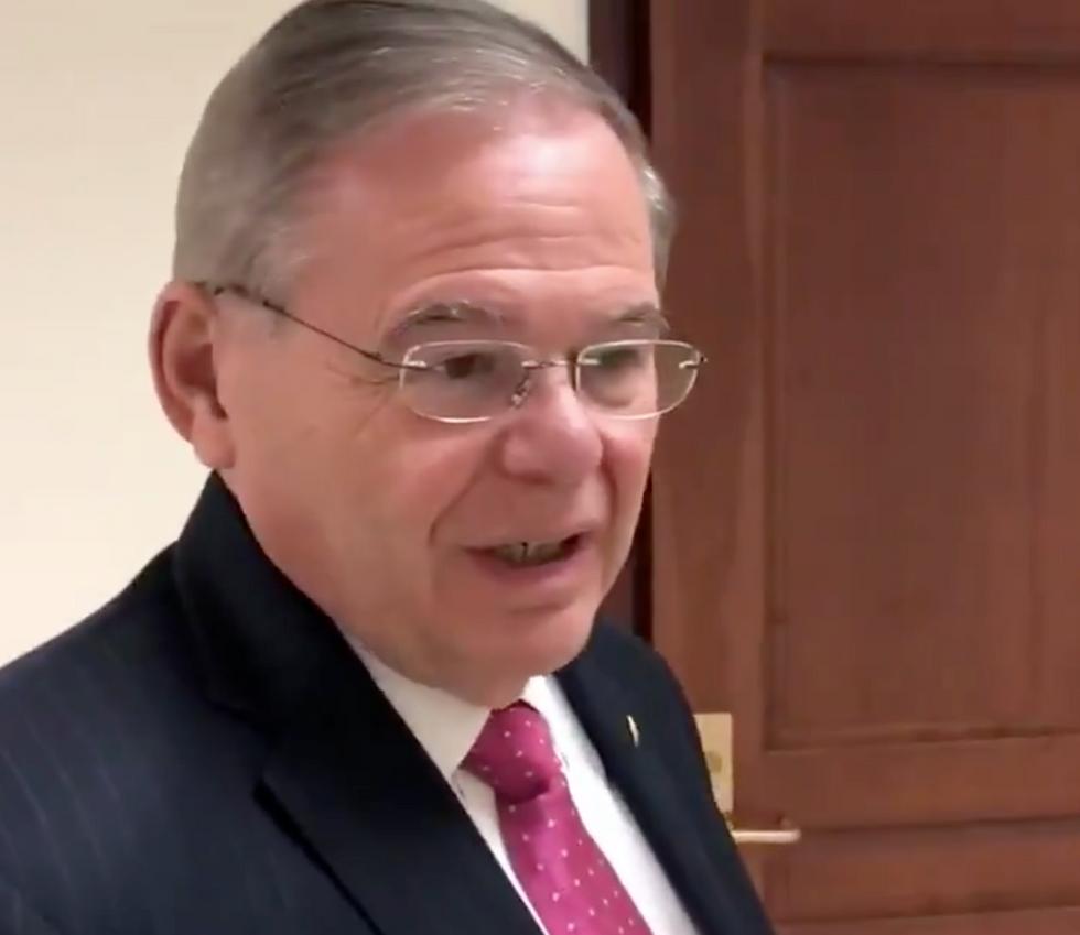 Sen. Menendez Denounces Kavanaugh FBI Probe as a 'Bullsh*t' Investigation