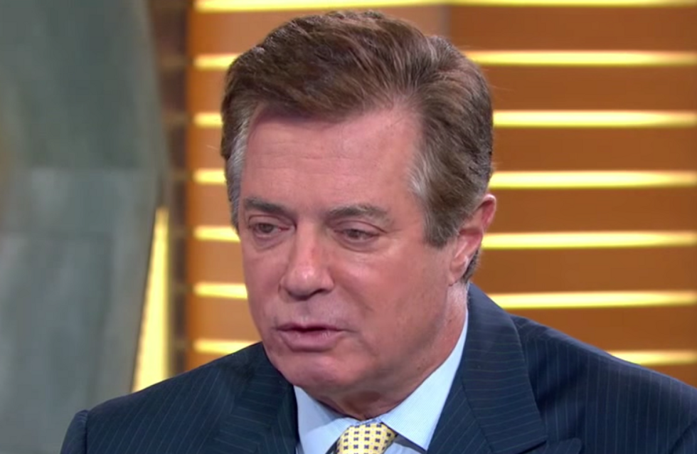 Legal Experts Say Trump Is Already Obstructing of Justice in the Case Against Paul Manafort