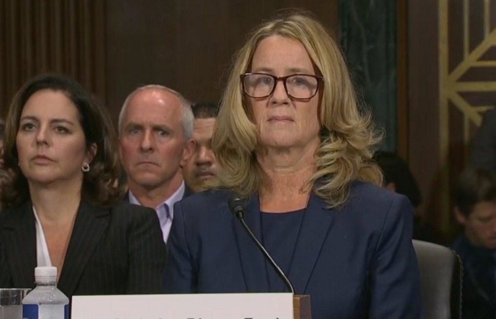 Watch Live: Christine Blasey Ford and Brett Kavanaugh Testify Before the Senate Judiciary Committee