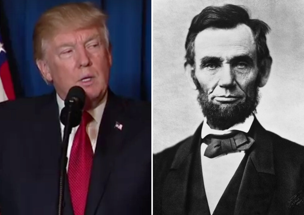 Abraham Lincoln Warned Us About the Dangers of Donald Trump