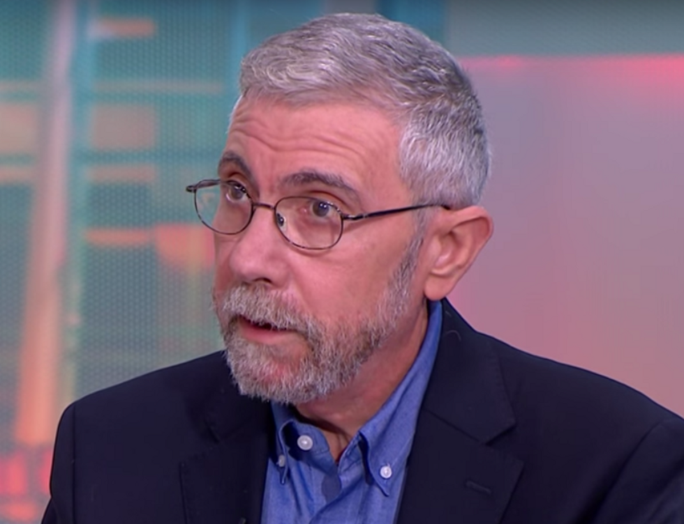 Paul Krugman Denounces the 3 'Villains' that Thwarted Full Recovery from the Great Recession