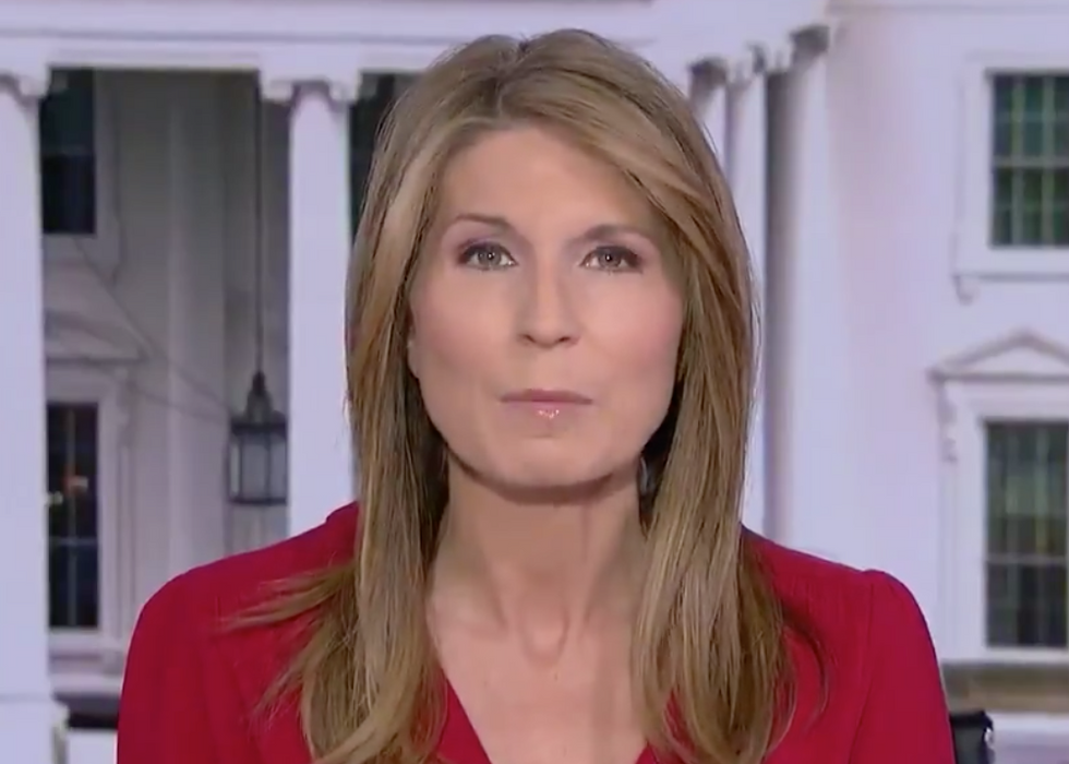 MSNBC's Nicolle Wallace Points Out the 'Stark Contrast' Between Obama's Passionate Campaigning and a 'Clearly Desperate' Trump