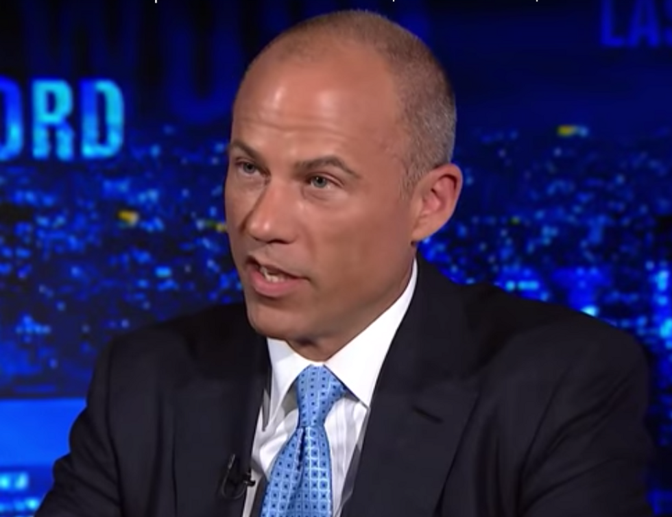 President Trump Can't Be Indicted? Michael Avenatti Wants to Test that Theory
