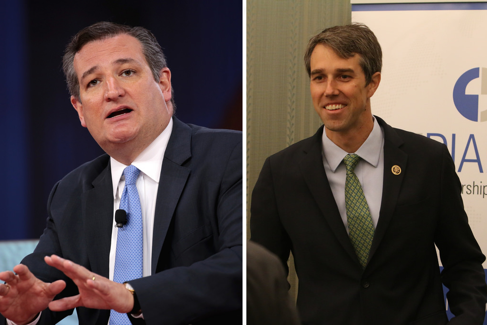 Ted Cruz Campaign Scrambles to Match O'Rourke's Show of Force in Texas: 'Beto Signs Are Everywhere'