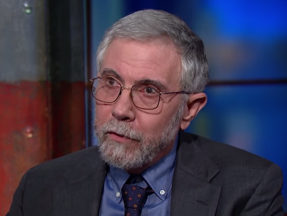 'An attempted power grab by a would-be authoritarian movement': Paul Krugman explains why the GOP's reaction to the 2018 midterms is an 'existential' moment for the US