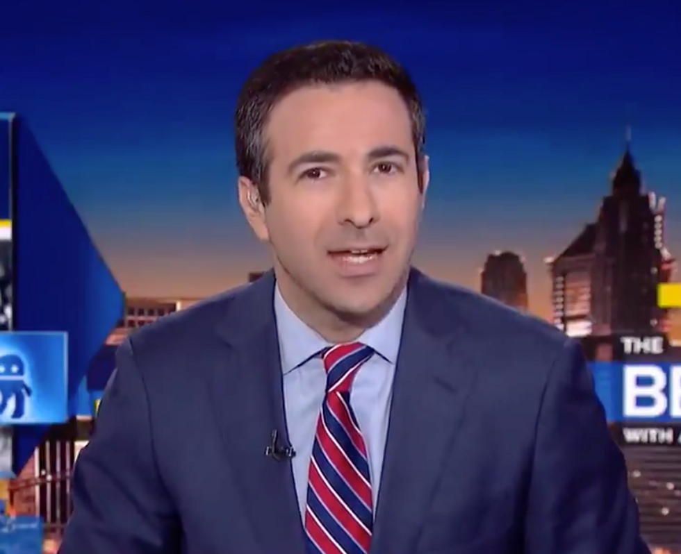 MSNBC Host Ari Melber Reveals the Biggest Clue that Trump Has Become a 'Political Weakness' for the Republican Party