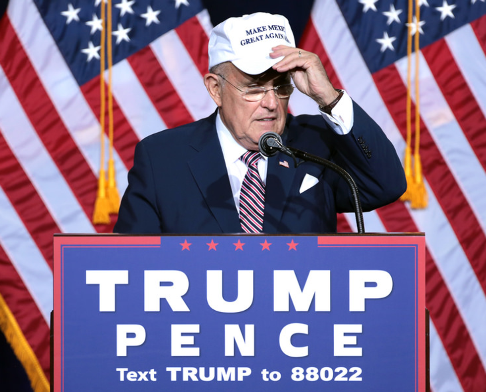 'Bullsh*t!' Rudy Giuliani erupts after CNN busts him for false Trump Tower Moscow claims