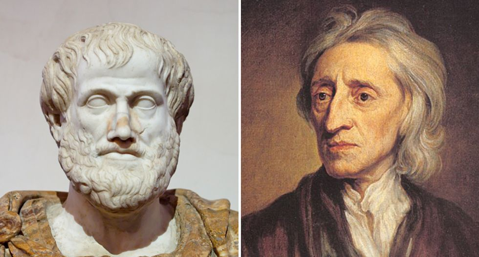 What Aristotle and John Locke said about political liberalism