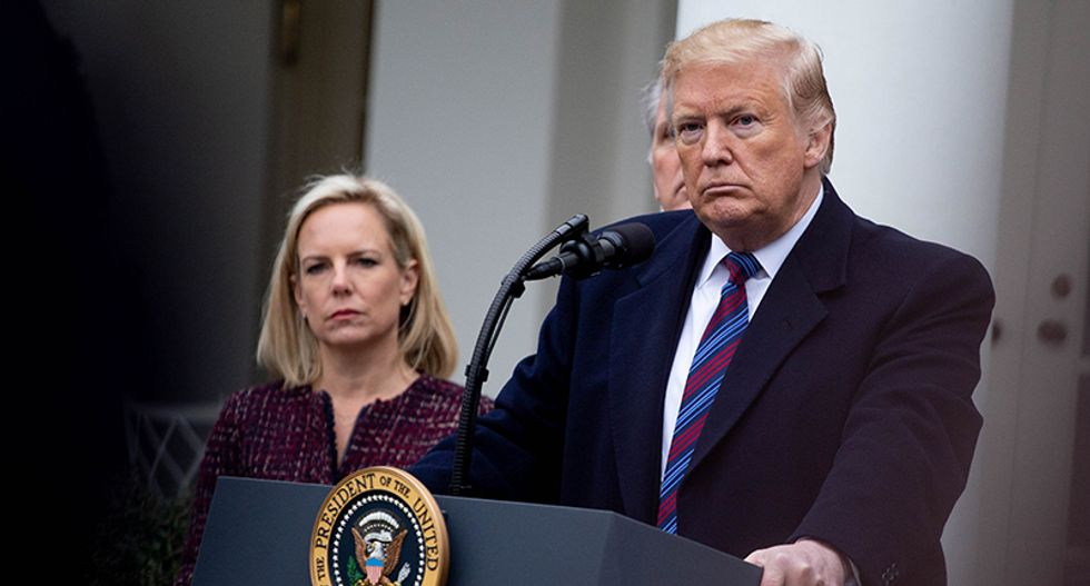 Objections by Nielsen and others to Trump's plan for mass arrests were 'logistical and technical' — not moral or ethical