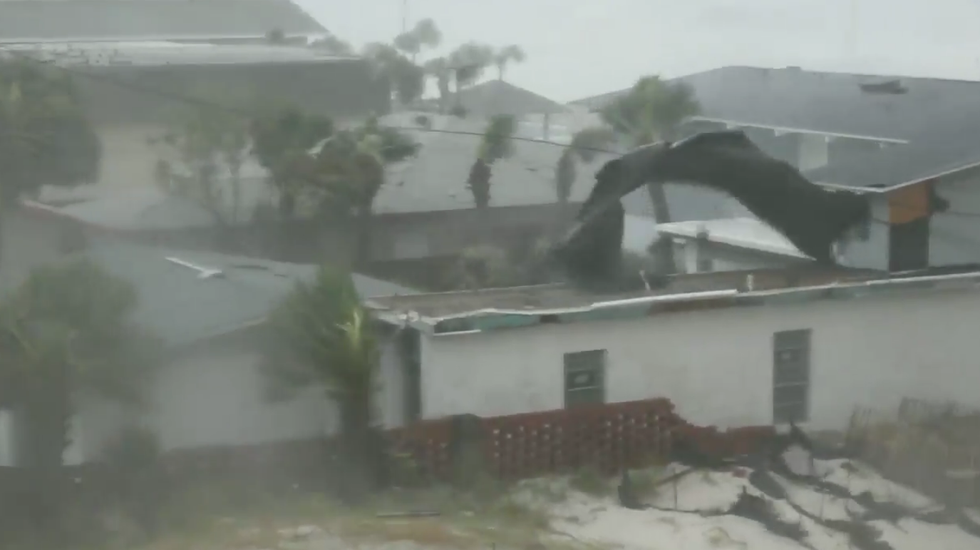 Here Are Some of the Wildest Clips Showing the Danger of Hurricane Michael