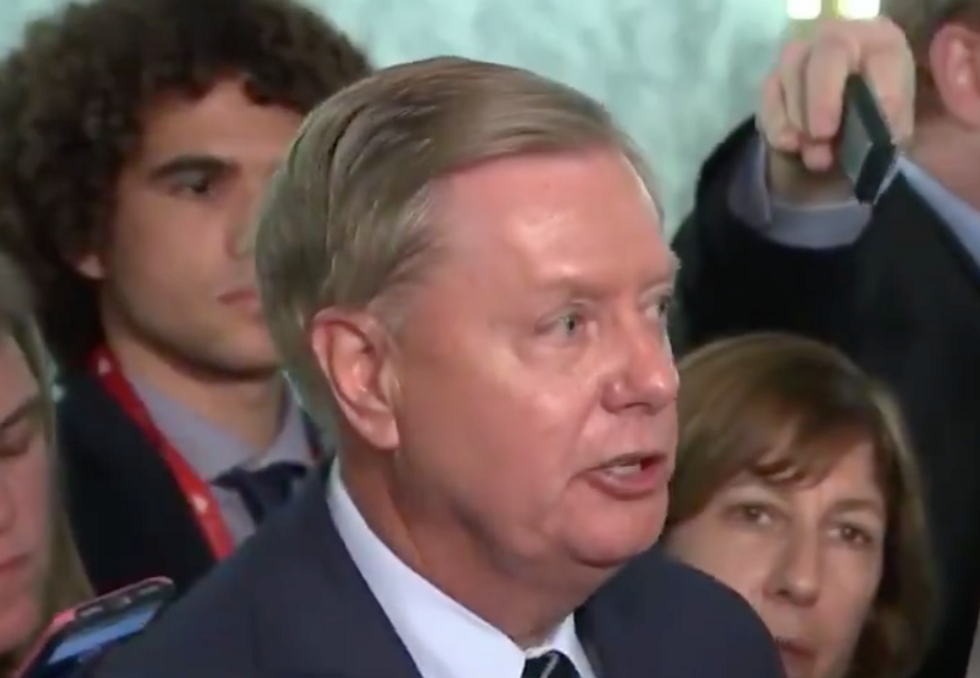 Former Federal Prosecutor Apologizes 'On Behalf of All Men' After Lindsey Graham's Furious Response to Ford's Testimony