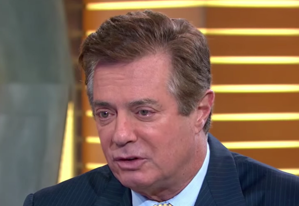 Paul Manafort Privately Coordinated with Unnamed Israeli Official to Discredit a Ukrainian Politician