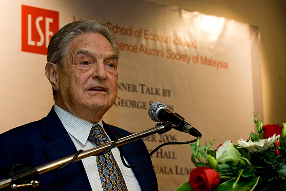 U.S. Government-Run TV Service Actually Ran a Segment Attacking George Soros as a 'Multimillionaire Jew'