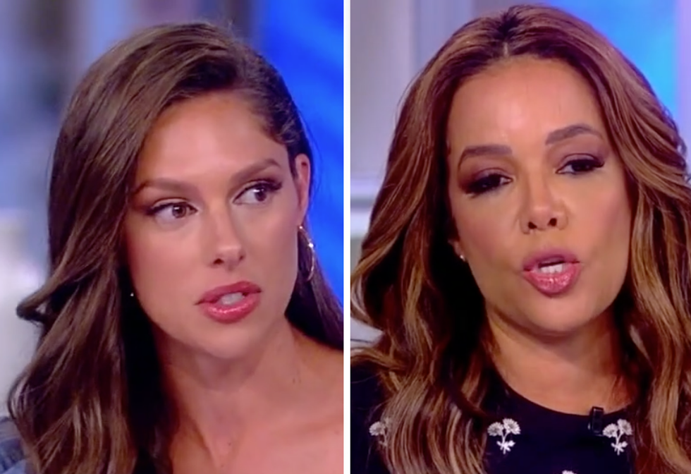 The View's Sunny Hostin Shuts Down Abby Huntsman for Defending Trump: He 'Doesn't Care About Puerto Rico'