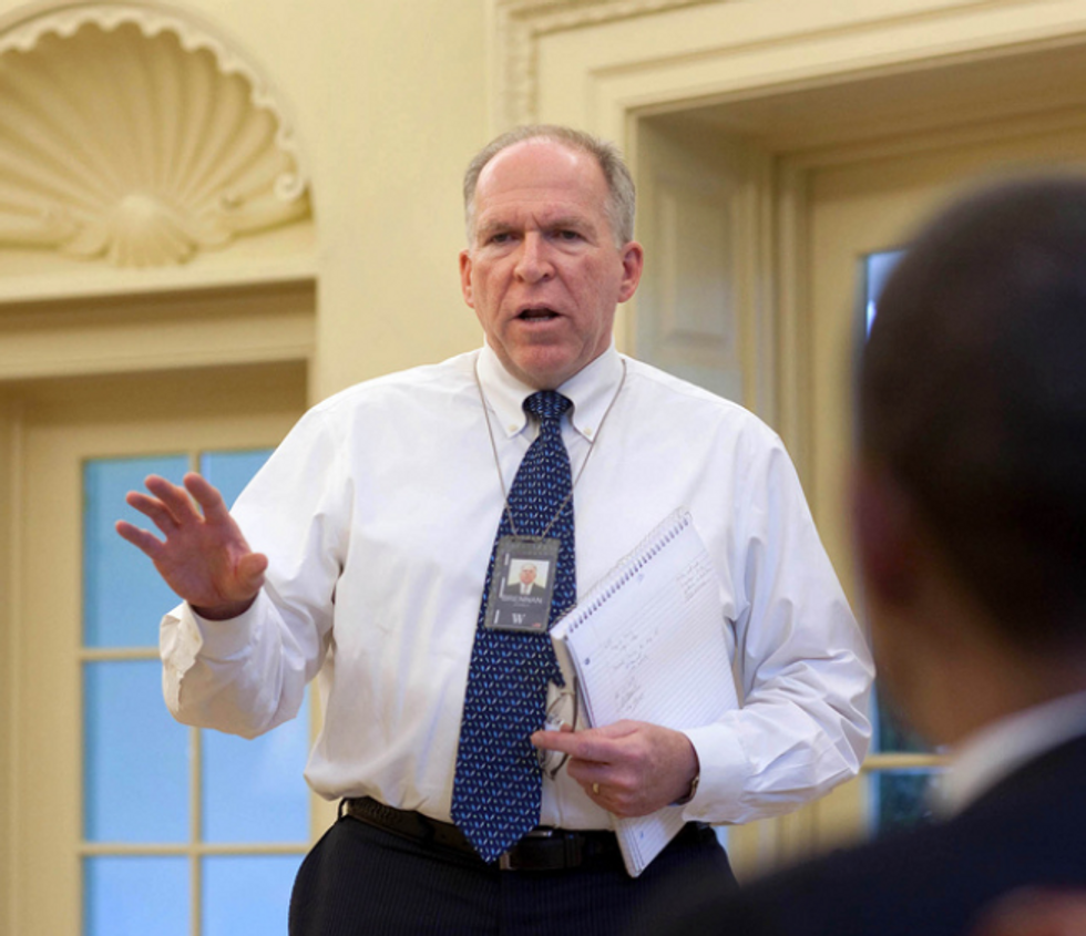 John Brennan Calls President Trump's Claim of No Collusion With Russia 'Hogwash' in Scathing NYT Op-Ed