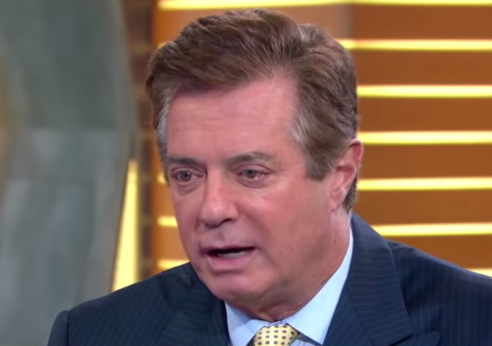 Trump makes clear that he is still considering a pardon for Paul Manafort  -  deepening his own legal peril