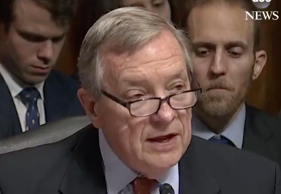 Democratic Senator Calls Out the Most Disturbing Point In Kavanaugh's Testimony: 'A Sad Moment in the History of This Committee'