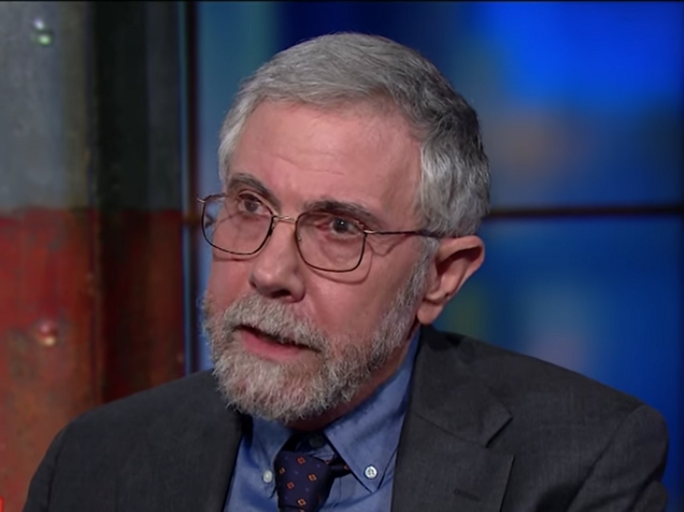 Paul Krugman Reveals Why Republicans Are Trying So Hard to Demonize Nancy Pelosi