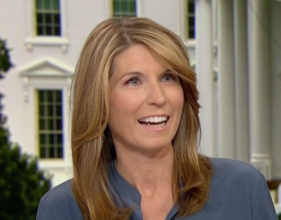 'This Is Hilarious!': MSNBC's Nicolle Wallace Bursts Out Laughing at Report of Trump Appointee Trashing the President's Personality