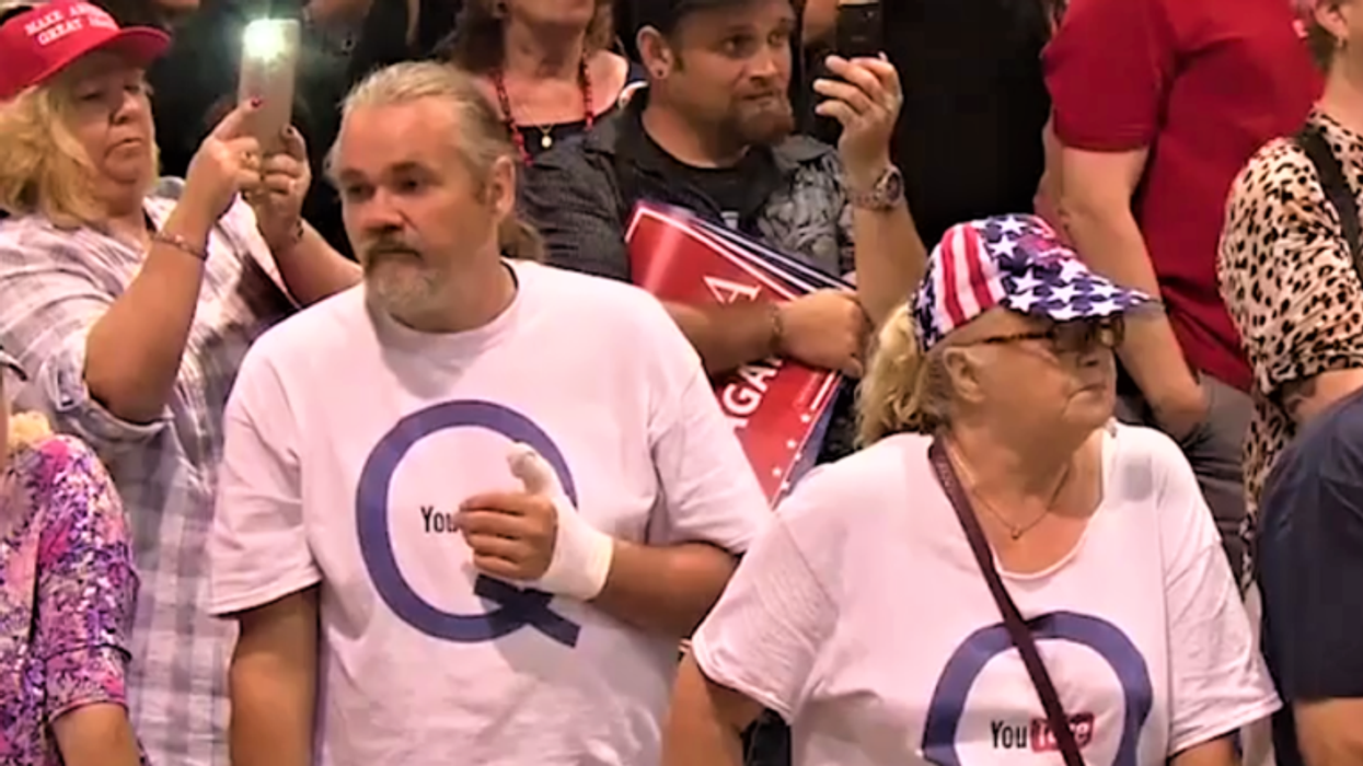 'I'm the laughing stock of my family': QAnon believers implode as they watch Biden getting sworn in