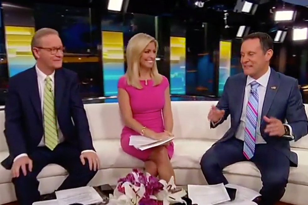'Good, Unscripted Moment': Fox & Friends Praises Claims UN Didn't Laugh at Trump's Face But 'People Twisted It'