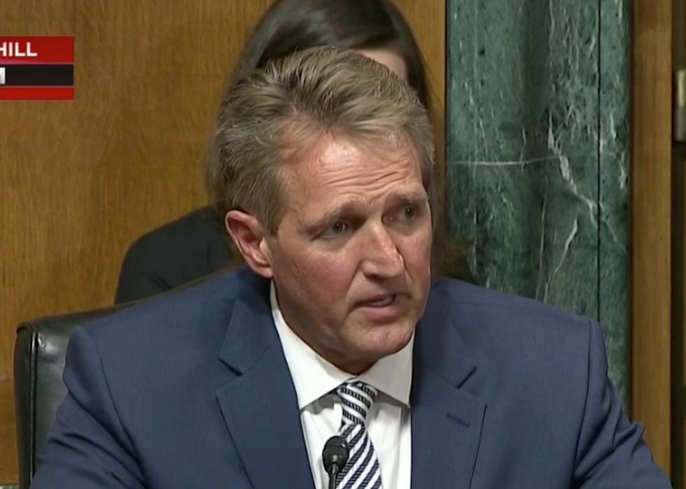 Sen. Jeff Flake Calls for a One-Week FBI Investigation Ahead of Full Senate Vote on Brett Kavanaugh