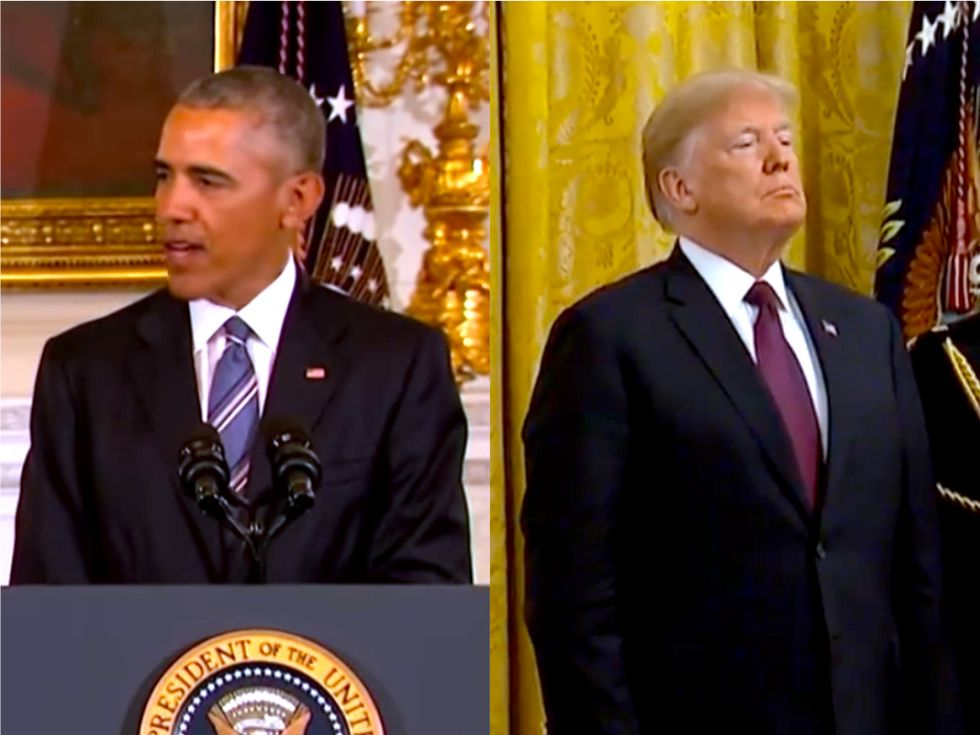 Here's how Trump's use of the Presidential Medal of Freedom differs from what Obama did