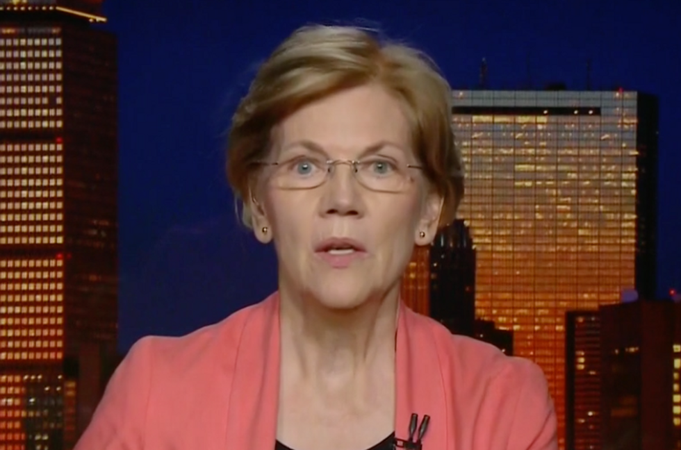 'A Cancer on Our Democracy': Elizabeth Warren Says Trump's Ties to Michael Cohen's Crimes Reveal the Corruption of Our System