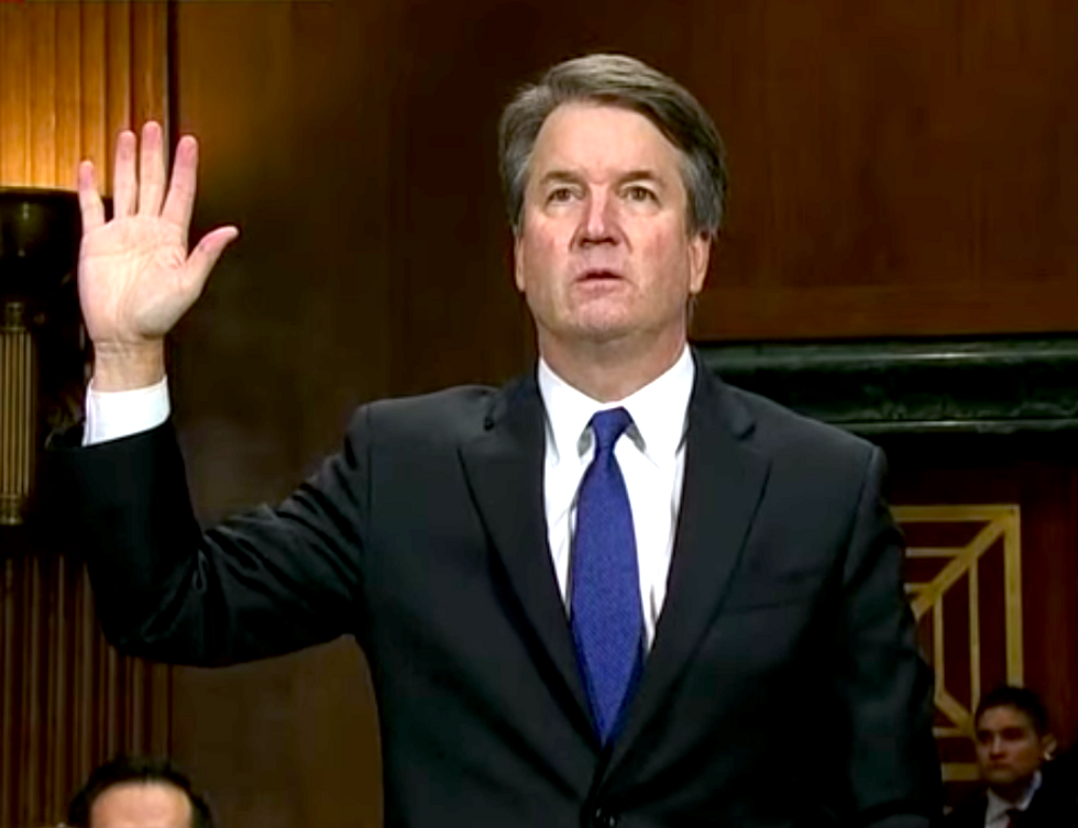 New Report Implies Kavanaugh Lied Under Oath About First Hearing His Second Accusers' Claims  -  and Pressured Friends to Refute Them