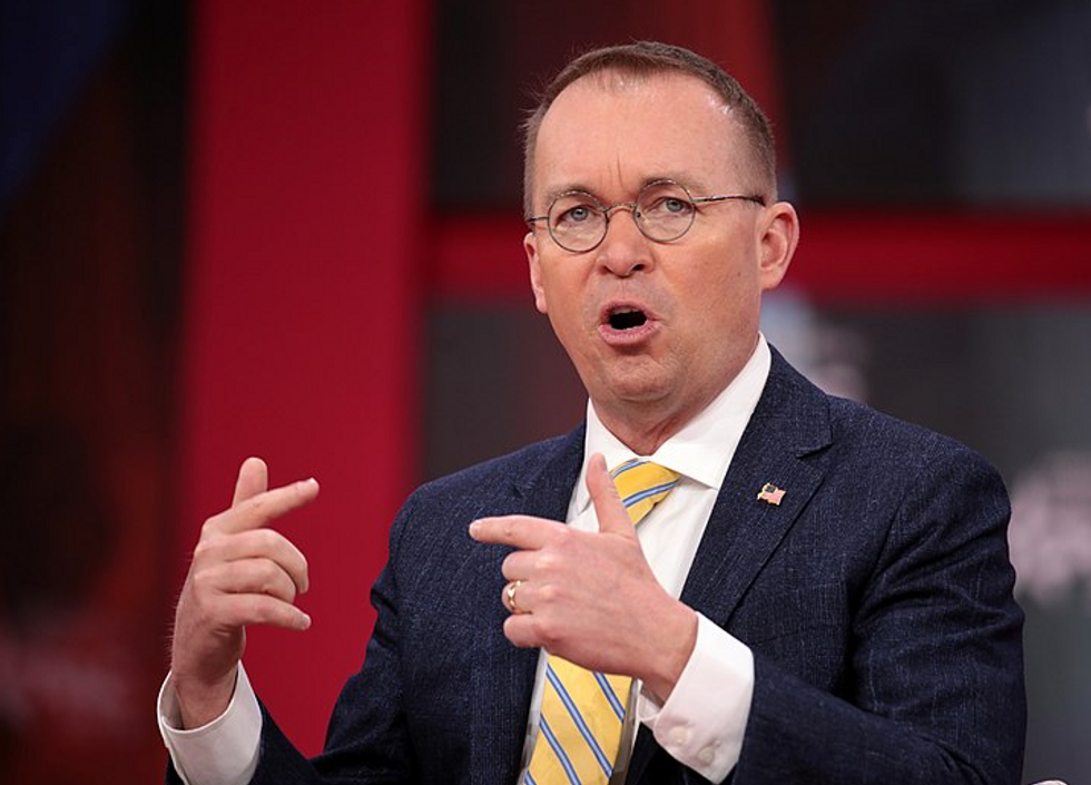 Mick Mulvaney to serve as Trump's  new chief of staff  -  but it appears to be a temporary job