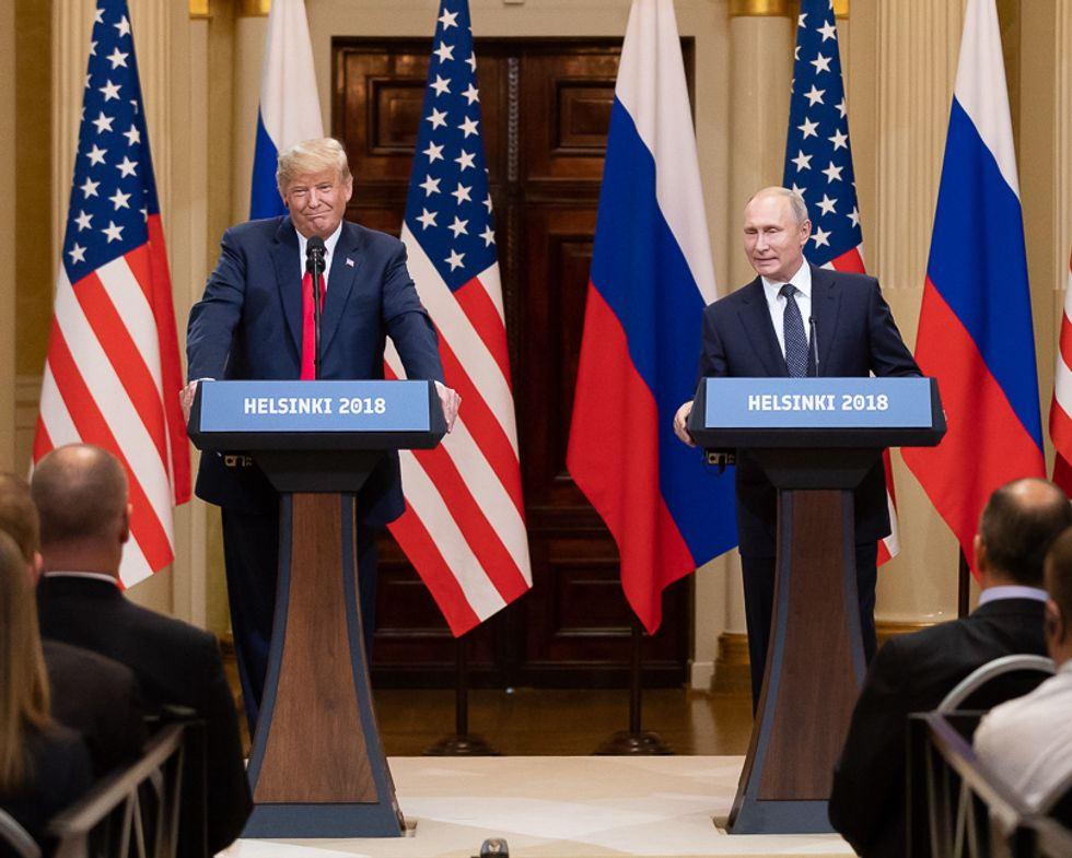 Conservative writer argues new evidence shows that 'Trump and the Russians are locked at the hip'  -  and the president's loyalties are 'unclear'