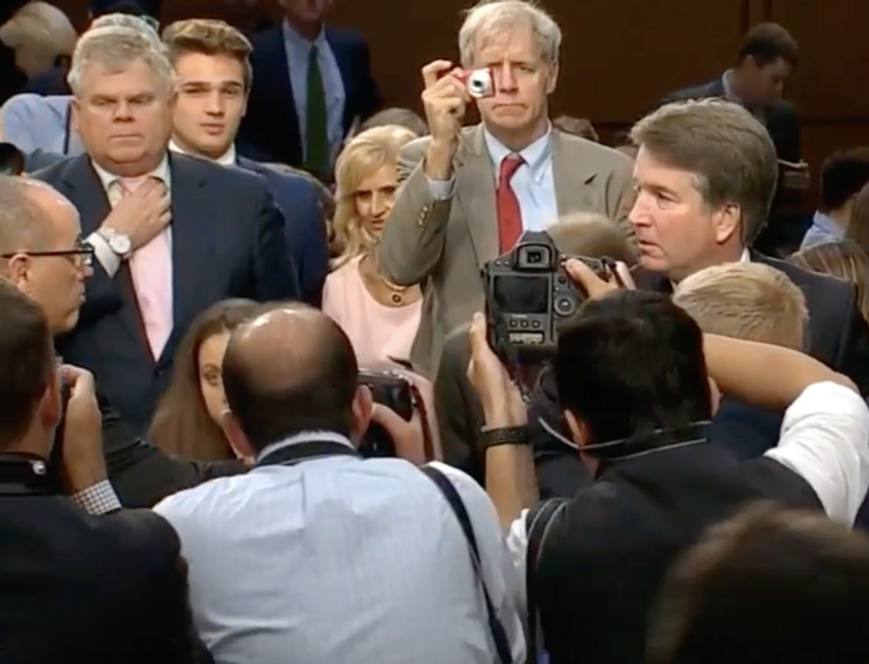 Watch Kavanaugh Refuse to Shake the Hand of a Parkland Victim's Father