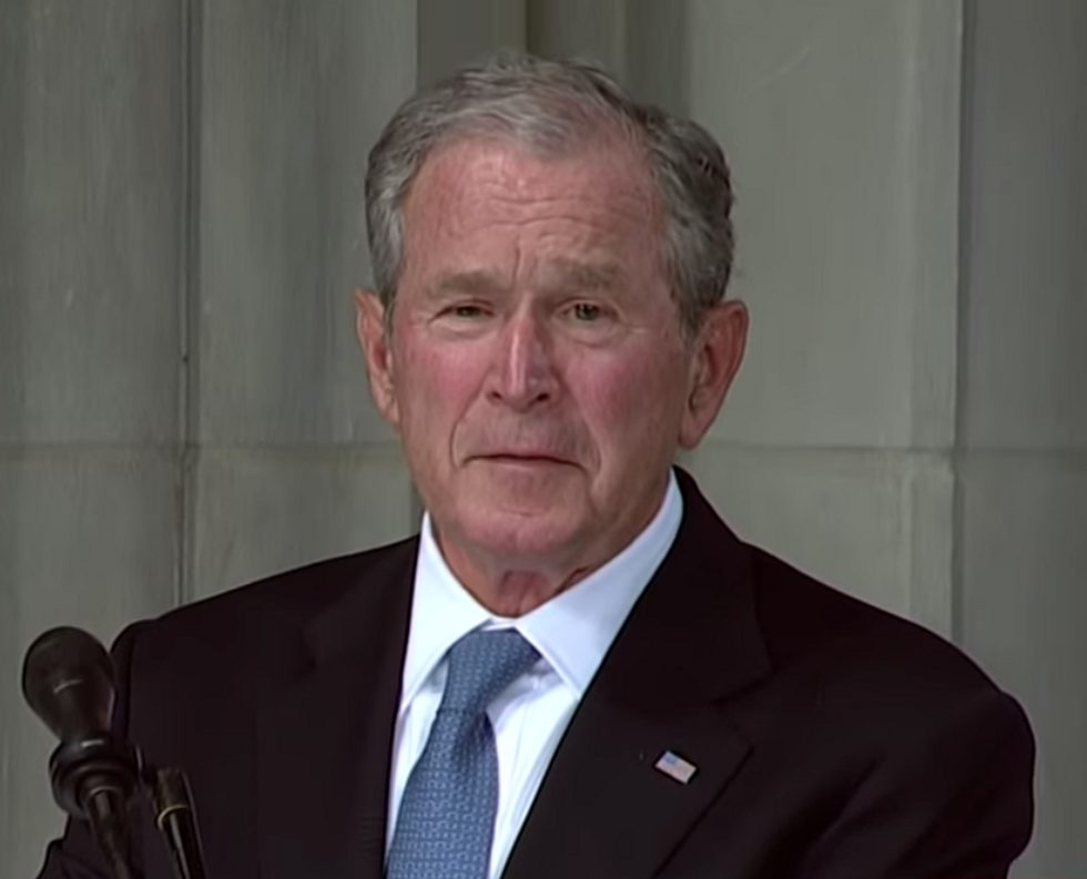 Don't Buy the Hype  -  George W. Bush Is Not a Part of the 'Resistance' to Trump