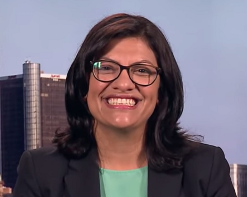 Rashida Tlaib Makes History as the First Muslim Woman Elected to the House of Representatives