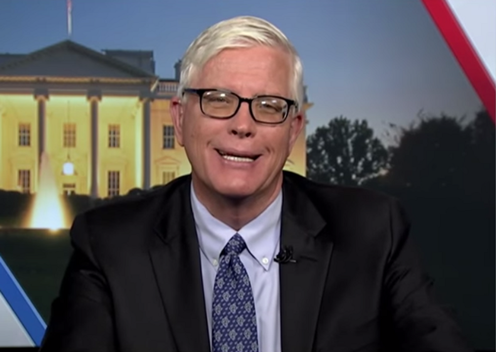 Conservative Pundit Says Disrupting Mitch McConnell's Dinner Is 'Equivalent' to Trump's Outright Celebration of Violence and Assault