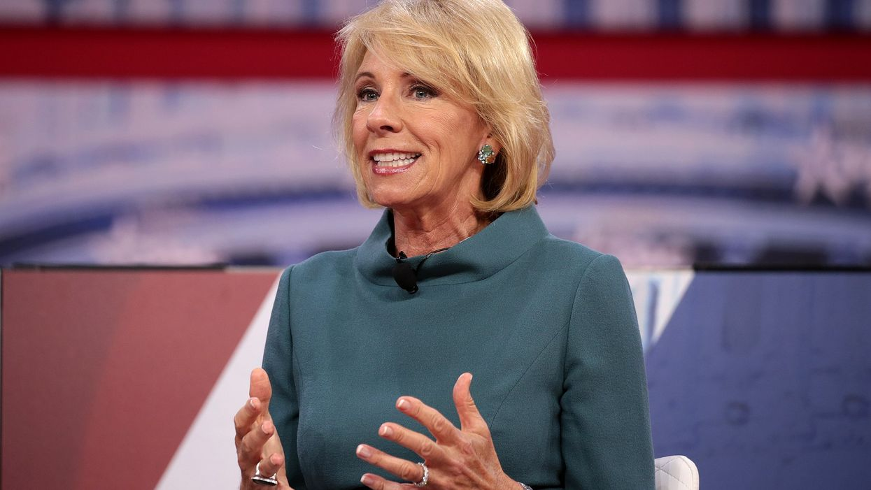 Here are the damaging policies Betsy Devos left behind