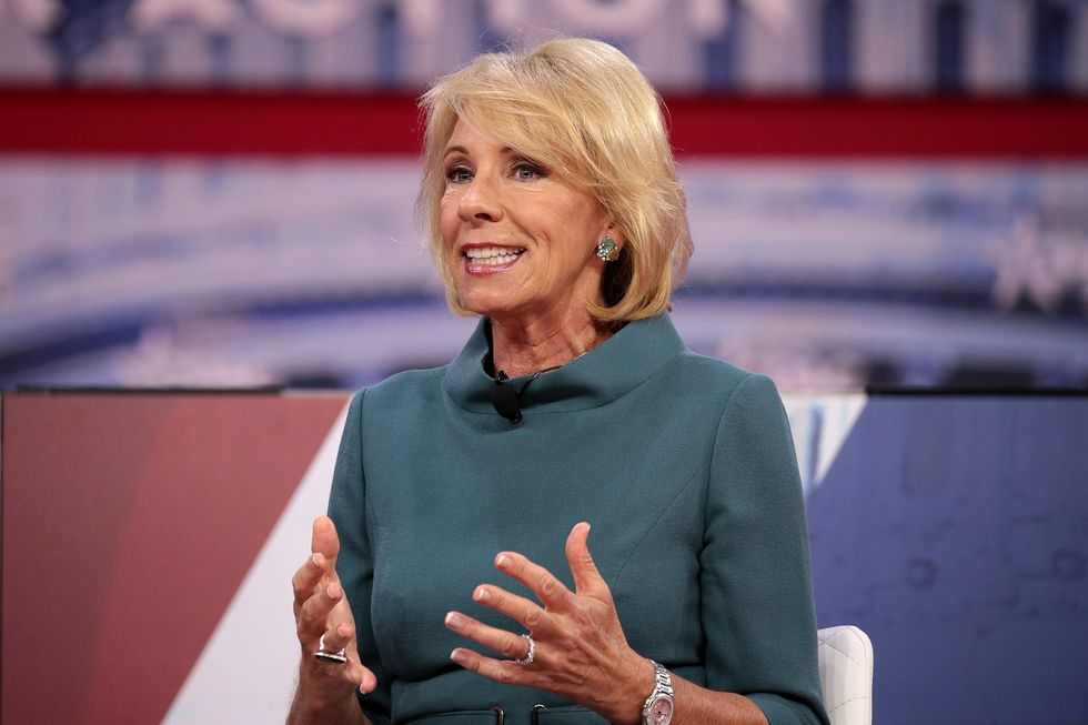 The Backlash to Betsy DeVos' Disastrous Education Legacy May Drive a Massive Blue Wave on Her Home Turf