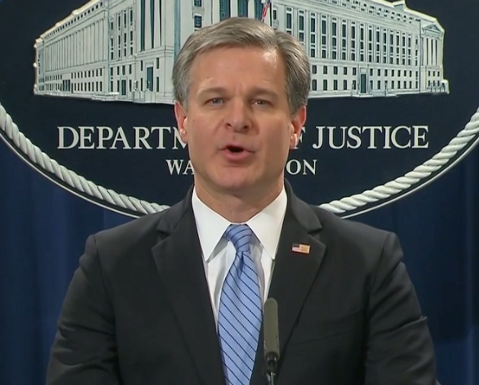 Here's Why the FBI Director's Refusal to Say When He Told Trump About the Bombing Suspect Is So Troubling