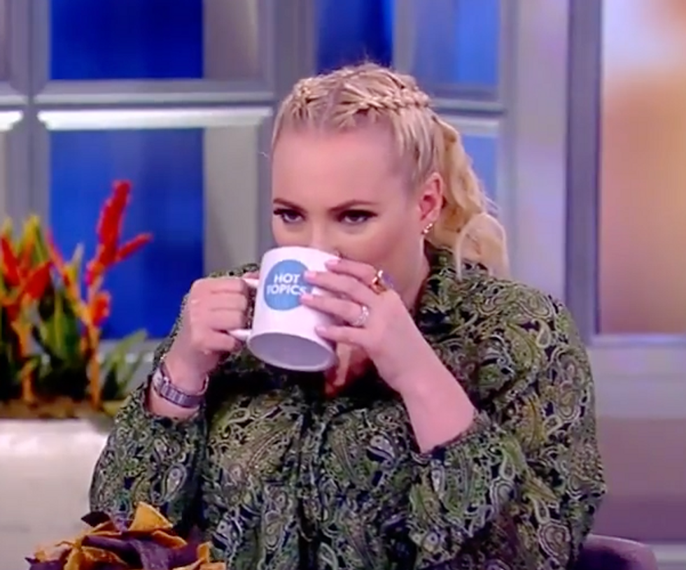 The View's Meghan McCain melts down over 'ridiculous' criticism of Ivanka Trump's private email  -  and gets immediately schooled