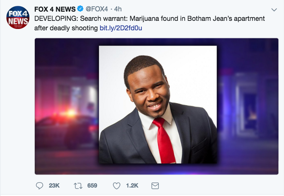 Local News Station Sparks Massive Backlash After Posting About Marijuana Found in Home of Black Man Killed by Police