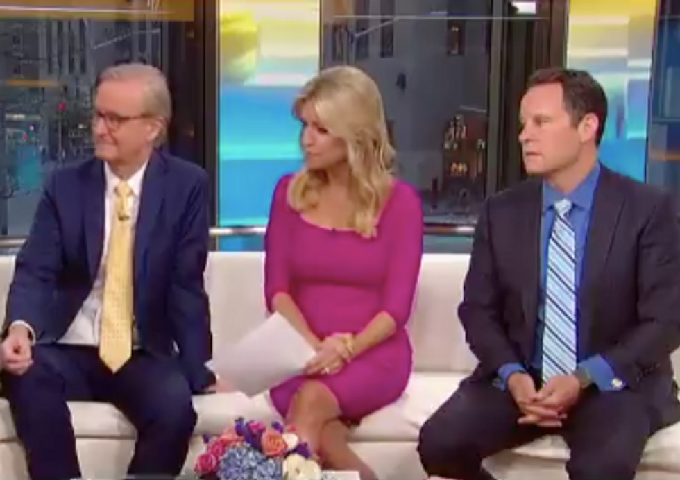 Fox & Friends Hosts Become Visibly Deflated After Legal Analyst Says Trump's Latest Tweets Give 'Fodder' for Mueller Investigation