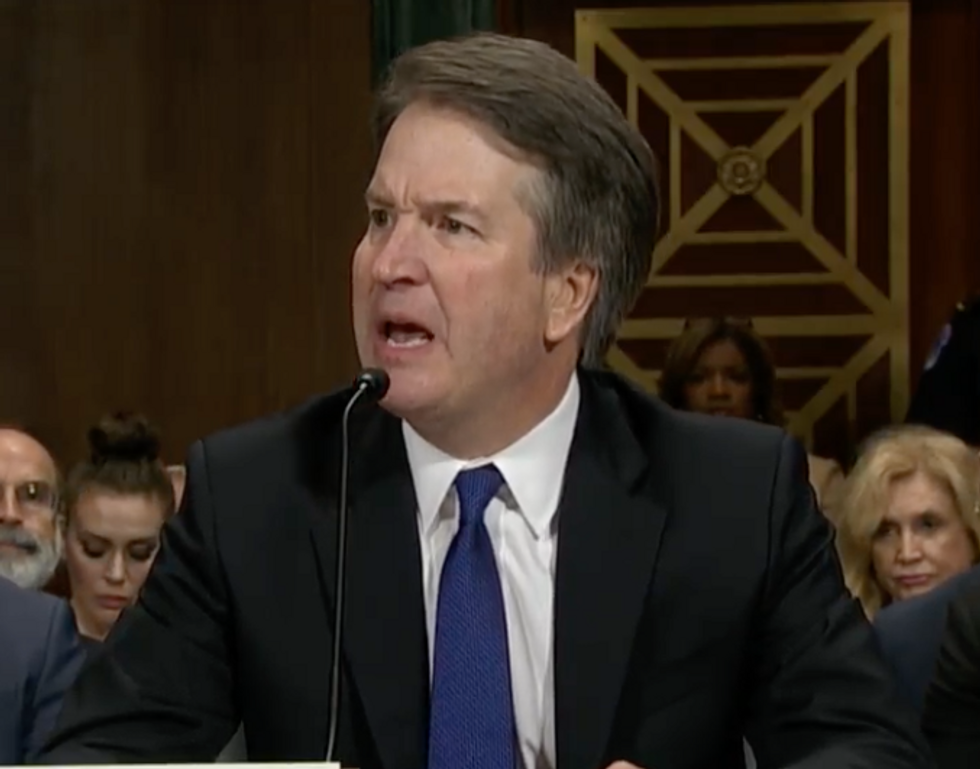 'Out of Control': Brett Kavanaugh Stuns Observers with Furious Opening Statement Revealing Himself as a Right-Wing Operative