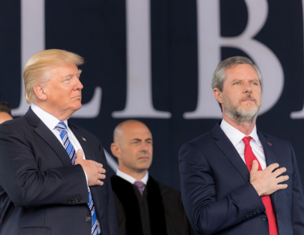 Jerry Falwell Jr. Warns 'Never Trumpers' Are 'In for a Rude Awakening'