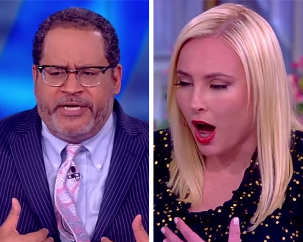 The View's Meghan McCain spews GOP talking points on Florida's election supervisor  -  and gets immediately fact-checked