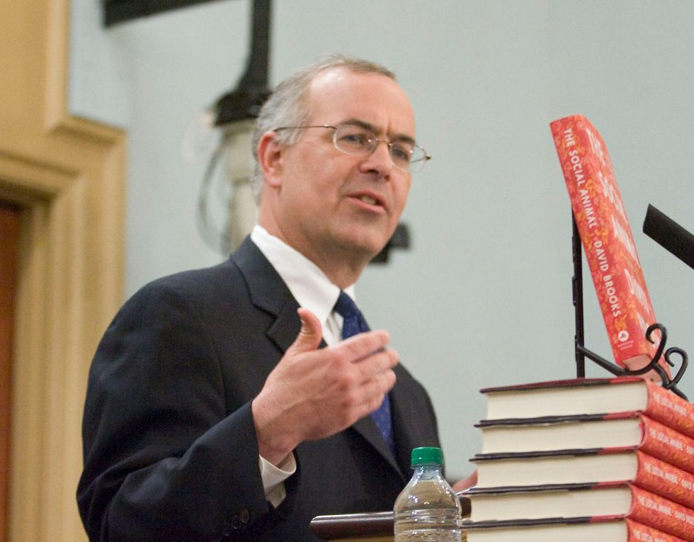 David Brooks' Latest NYT Column Bashing Democrats Exposes the Hollow Core of Centrist Political Commentary