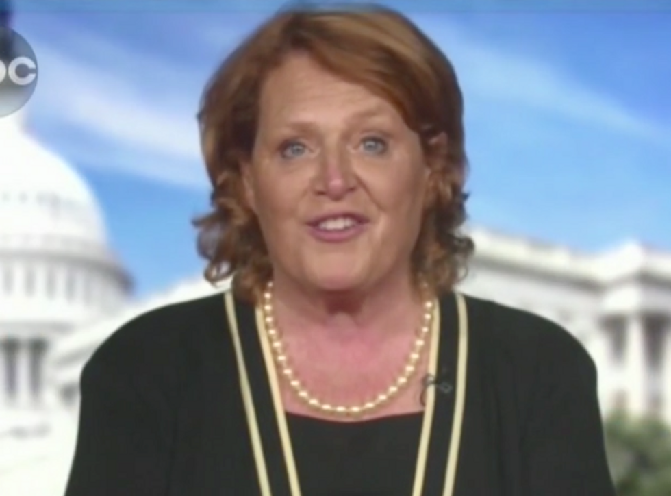 Democratic Senator from a Red State Chokes Up While Explaining Why She's Decided to Vote Against Brett Kavanaugh