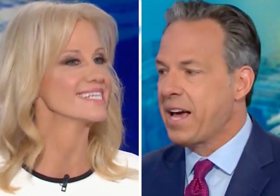 CNN's Jake Tapper Corners Kellyanne Conway Over Anonymous NYT Op-Ed: Trump Administration Gave It 'Credibility'