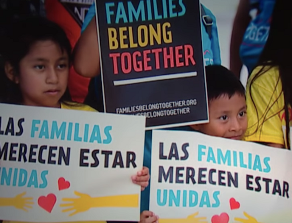 Corporate Media Moved On  -  So Here's a Reminder That 565 Children Remain Separated from Families Due to Trump's Monstrous Policies