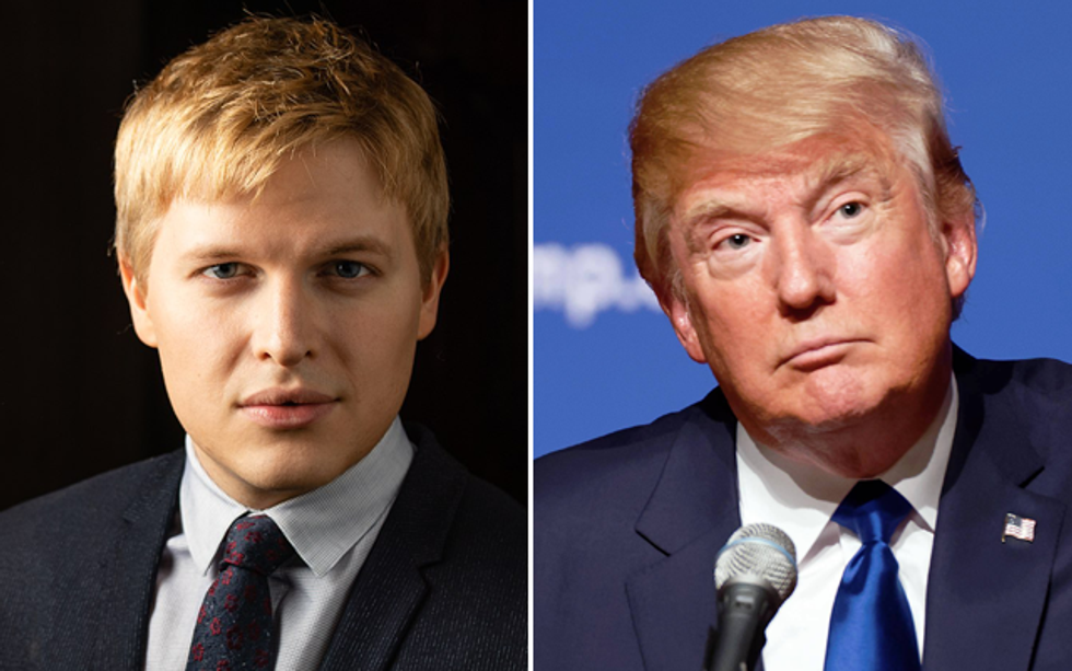 The Long-Rumored Donald Trump Tapes from 'The Apprentice' Have Been 'Handed Over' to Ronan Farrow: Report